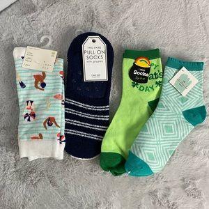 (5/$25) NEW Target 5 Pairs Socks